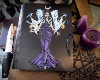Book of Shadows,Sketchbook,Notebook - Hecate