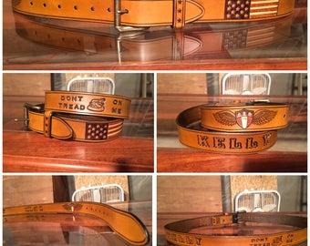 1.5 Inch All-American Name Belt