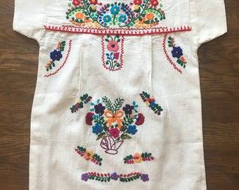 Handmade Girls mexican dress sz 4