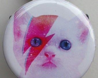"Badge reel ""Kitty Stardust"""