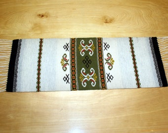 Vintage Wool Runner - Audhild Vikens Vevstove Rug