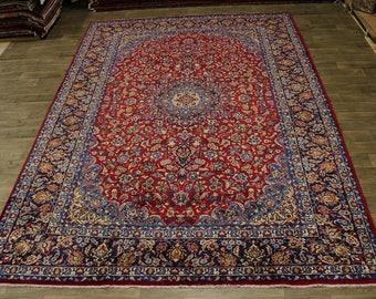 Fantastic Semi Antique Handmade Najafabad Persian Rug Oriental Area Carpet 10X14