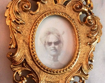 Vintage James Papalia Original 1967 24k Gold Plated Frame