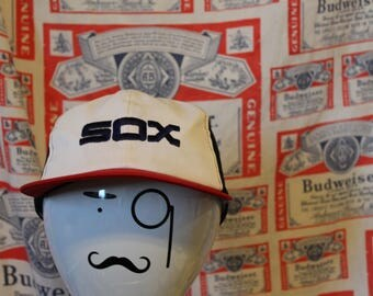 Vintage White Sox Hat // 80s White Sox Hat // White Sox Hat // Throwback White Sox Hat // Chicago White Sox // Chicago White Sox Hat //