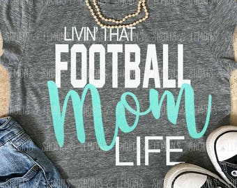 Proud Mama, Football Mom svg, Football svg, mom dxf, eps, png, Football Mama svg, files for cricut, iron on decal, Football team svg, png