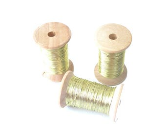 Champagne copper wire 0.315mm
