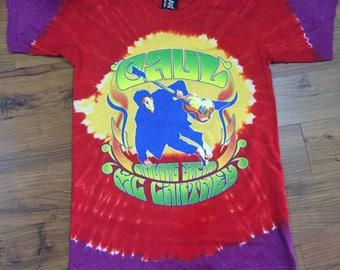 Vintage Tie Dye Paul Mc Cartney The Beatles Tour T Shirt