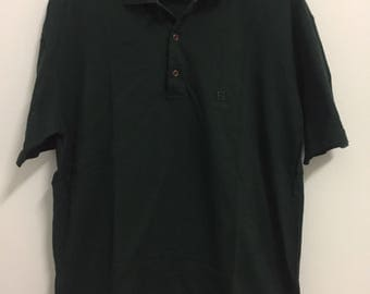 Rare Fendi Polo Shirt Casual Black