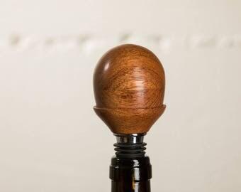 Jatoba Hardwood Wine Bottle Stopper