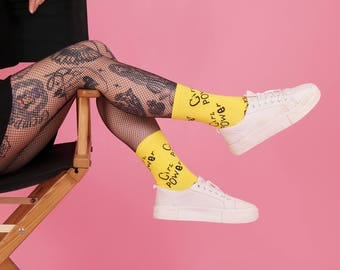 Girl Power Punk Socks