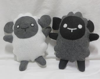 Felt Sheep Plushies