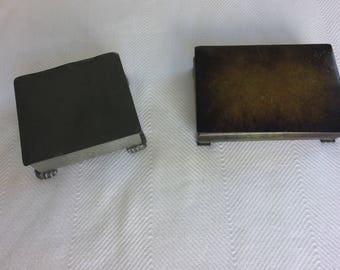 1930s wood-lined metal boxes