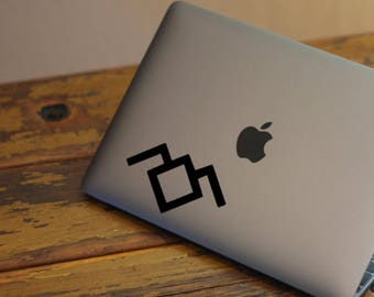 """FREE SHIPPING! - 3"""" Twin Peaks inspired decal"""