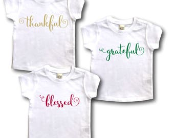 Twins baby gift twin outfit twin baby clothes twin triplet gift triplet thanksgiving thankful grateful blessed triplet baby gift triplets baby negle Images