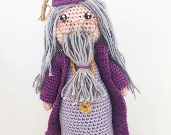 Dumbledore crochet pattern dutch/english