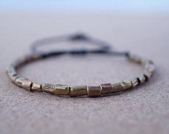 Silver Beaded Bracelet, Vintage look for men, Beads, Business jewellery man, Biker, classy and nobel