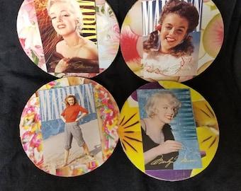 Marylin Monroe Vintage Decor Coasters