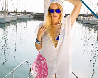 BiggDesignHooded Beach Dress L-XL