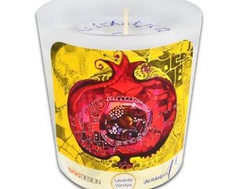 BiggDesignPomegranate Medium Size Candle