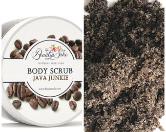 Java Junkie Body Scrub - 12 oz