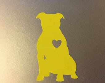 Personalized Pit Bull (Name) Decal