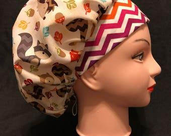 FALL/THANKSGIVING Bouffant Surgical Scrub Hat Hallowen