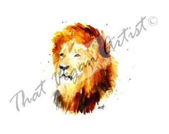 Cecil the Lion Print