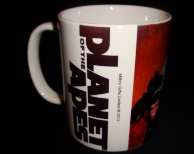 Classic Planet of The Apes 1970's Style Mug