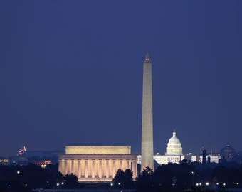 Photo of Washington, DC on the 4th of July
