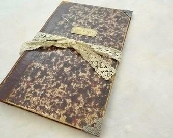 Deluxe Kit DIY de reliure d'Antique livre fil dentelle à l'aiguille et plus, rebond livre d'approvisionnement, Journal modifié ou un album