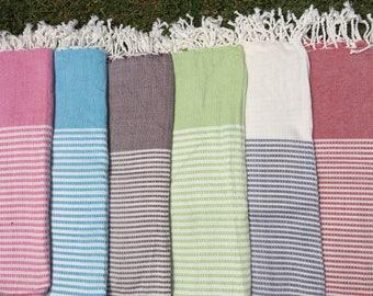 Bamboo Peshtemal Towel  - Authentic Towel - Bath Towel - Beach Towel - 100% Bamboo