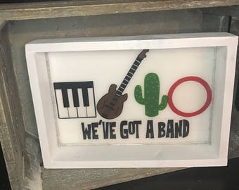 We've Got a Band Rolling Tray