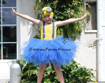 Tutu, Minion inspired costume tutu dress