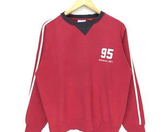 Rare Vintage Reebok Sweatshirt / Sportwear Clothing / Menswear / Womenswear / Large Size