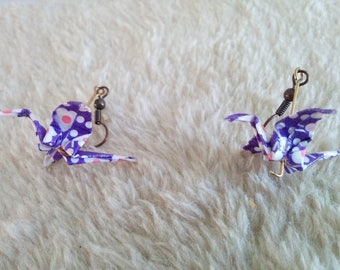 """""""Birds in flight"""" earrings (G_001)"""