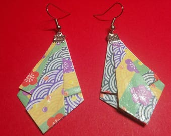 """""""Diamond point"""" earrings (D_014)"""