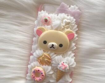 cute kuma decoden case for iphone 6/6s