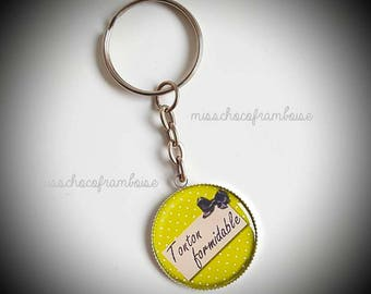 Uncle Keychain great 25mm cabochon