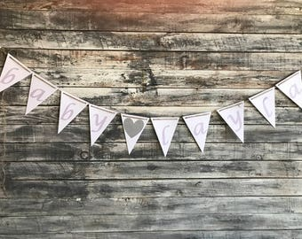 baby shower banner, birthday banner, banner, nursery decor, girl, boy, party decoration, baby shower, pastels