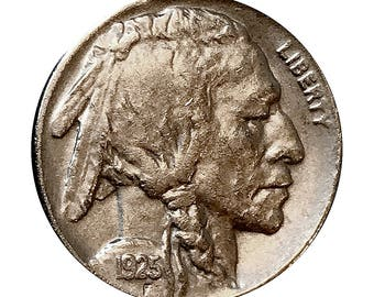 1925 P Buffalo Nickel - AU / Almost Uncirculated