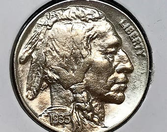 1935 P Buffalo Nickel - Gem BU / MS / UNC