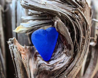 Sea Glass Photo~Tangled Up in Blue