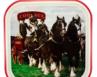 FLASH SALE Courage Beer Tray from the English Brewing Company-Courage Brewery