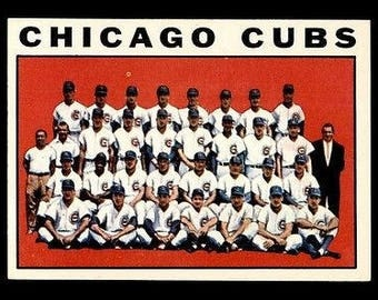 Vintage 1964 Topps #237 Chicago Cubs TC NM