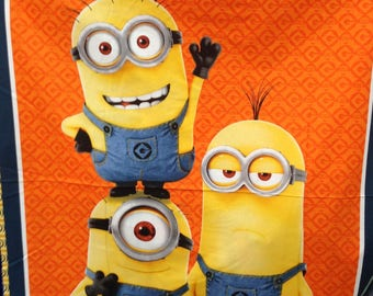 Fabric — 1 In A Minion series from Quilting Treasures (4 Options)