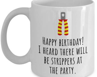 Funny Electrician Mug - Electrician Birthday Gift - Strippers At The Party