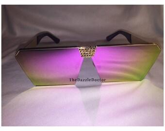 Bling sunglasses, Bling glasses, Swarovski sunglasses, Bling shades,Swarovski sunnies, Bling sunnies, Swarovski shades, Oversized sunglasses
