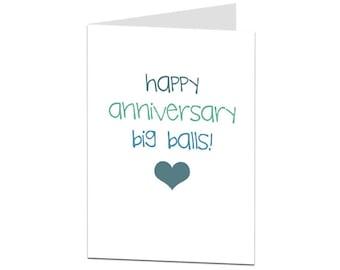 Rude Anniversary Card. Funny Anniversary Card. Anniversary Card For Husband Boyfriend BF. Naughty Anniversary Card. I Love You Card. Adult.