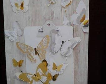 Heidi Swapp - MINC Collection - 3 Dimensional Butterflies - 32 PC