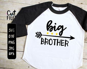 Big Brother svg file, little brother also available,brothers svg, boys svg, arrow svg, big brother, brother SVG, DXF, eps, sibling shirts,SC